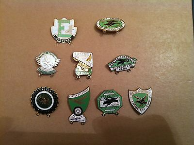 Exeter speedway  badges. The Falcons speedway