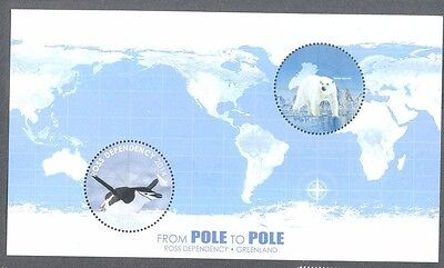 Ross Dependency from Pole to Pole mnh min sheet 2014 Penguin-Bears
