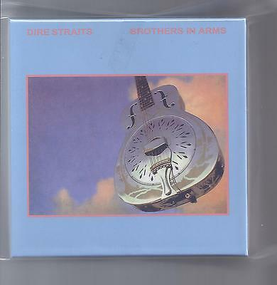 DIRE STRAITS empty Brothers In Arms big PROMO Drawer box for JAPAN mini lp