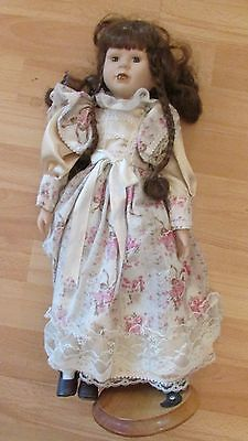 """18"""" Collectable doll with removable stand"""