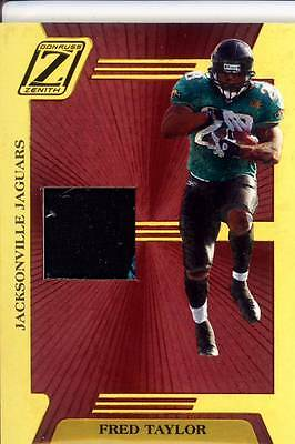 09aaa68b fred taylor game used gu jersey patch florida gators uf jaguars #/100 2005