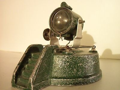 """Army Ww2  Toy  Cast  Metal Search  Light """"for Restoration"""""""