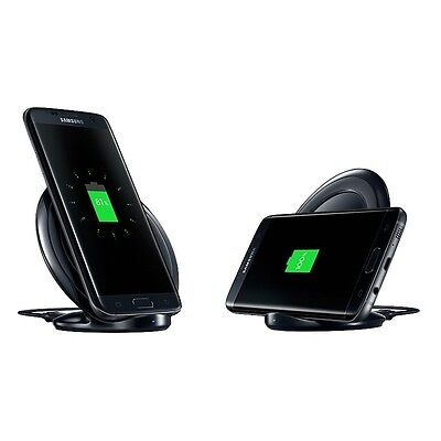 Genuine Qi Samsung Wireless Fast Charger Stand Pad for Samsung Galaxy S7 S7 Edge