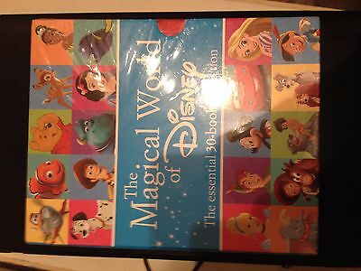 The Magical World of Disney Box Set 30 Book Collection. New with tear