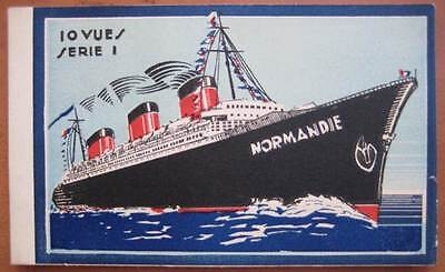 NORMANDIE (French) RARE Serie 1 INTERIORS