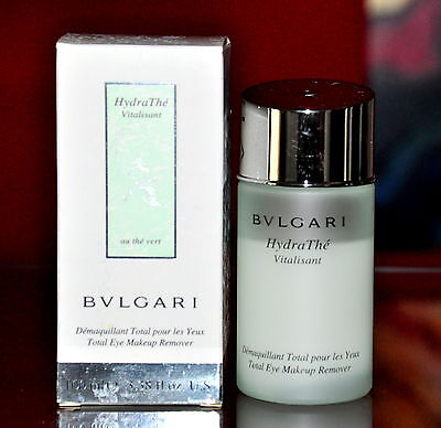 Bvlgari Au The Vert 100Ml Struccante Occhi Makeup Remover Eye Demaquillant Used