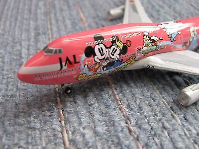 JAL Japan Airline DISNEY Dream Express SWEET Boeing 747-400 1:500 Scale MICKEY