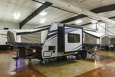 New 2016 213X Ultra-Lite Hybrid Travel Trailer Slide Out 3 Beds  Never Used