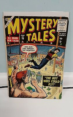 Mystery Tales 30 The Boy who could Fly 1955 Atlas comics