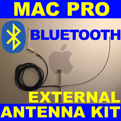 Mac Pro Bluetooth Signal Enhancement Kit • External Antenna • Extension Cable