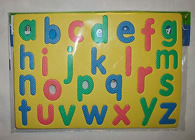 Alphabet ABC Puzzle Lowercase/Small Letters English non-Toxic Foam NWT