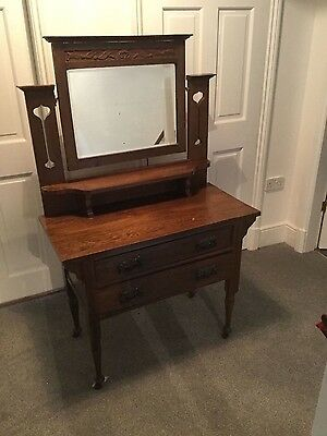 Beautiful Arts and Crafts Dressing Table