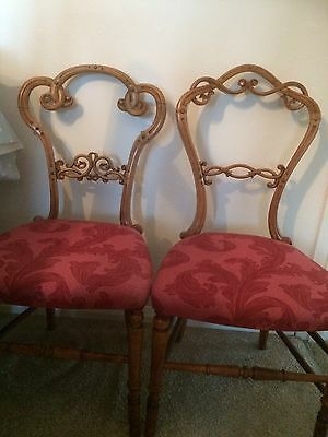 PAIR OF 17th CENTURY CHAIRS