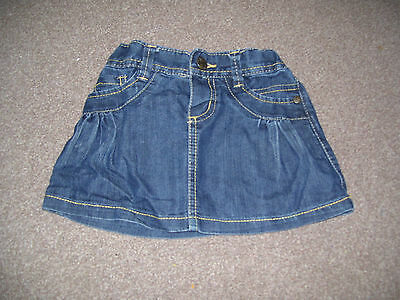 Baby girls denim skirt from Mothercare. Age 18-24 months. L@@K!