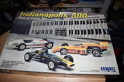 Vintage Indianapolis 500 Hall of Fame 3 car 1/25th scale MPC ERTL SEALED KIT