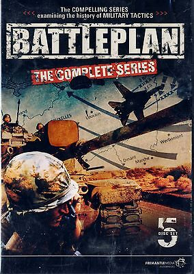 Brand New 5Dvd Set // Battle  Plan // The Complete Series // Discovery //