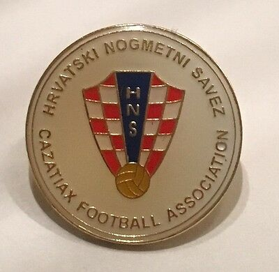 Croatia World Cup Rare Football Pin Badge With Germany 2006 Stamped On It