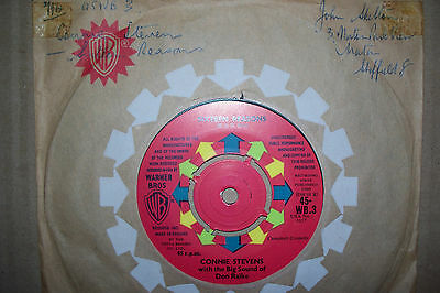 Connie Stevens,  Sixteen Reasons,  Warner Brothers Records 1960  Mint--