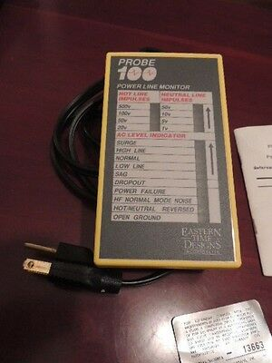 Probe 100 power line monitor Eastern Time Designs