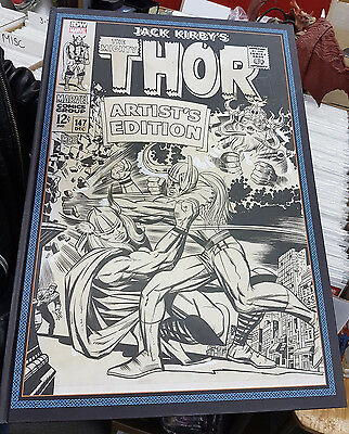 Jack Kirby Mighty Thor Artist Edition Hard Cover
