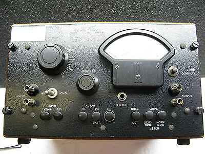 General Radio 1231-B Amplifier And Null Detector