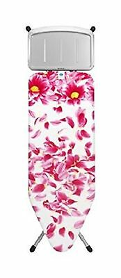 Brabantia Ironing Board with Solid Steam Unit Holder Size C Wide - Pink Santini