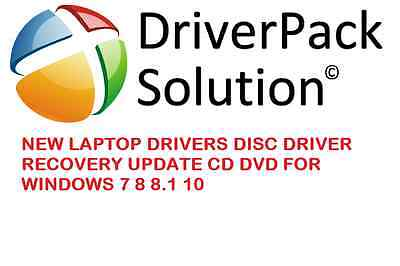New Laptop Drivers Disc Driver Recovery Update Cd Dvd For Windows 7 8 8.1 10