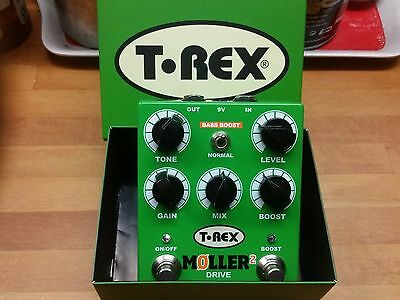 T Rex Moller 2 Classic Overdrive With Clean Boost + ABILITY TO MIX CLEAN WITH OD
