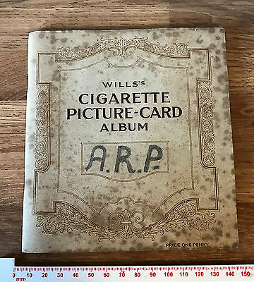 Complete Set of 50 1937 W.D & H.O. Wills Cigarette Cards Dogs & Generic Album