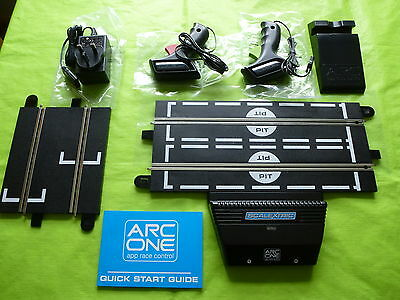 Scalextric *NEW* Arc One App Race Control + Start straight   C1346 C8433  #1