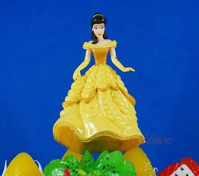 Cake Topper Disney Princess Belle Beauty and the Beast Decoration K1016_B
