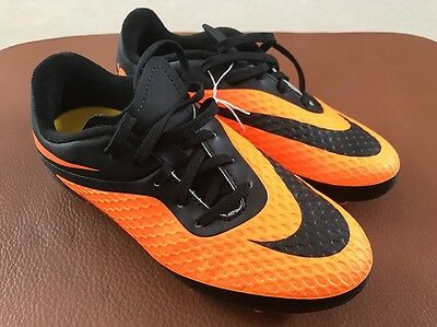 Nike Jr Hypervenom Phelon Fg Soccer Shoes Cleats Size 2 Y