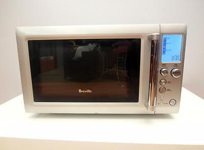 Breville QUICK Touch SILVER Microwave BMO625 Oven 25 Litre 900 W Adelaide