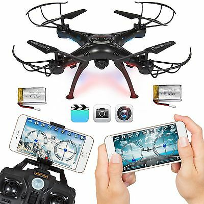 X5SW-1 Black White Wifi FPV RC Quadcopter RTF Camera Drohne 2.4Ghz 4CH with 2MP