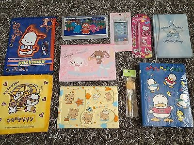 Vintage Sanrio Hello Kitty lot Pekkle Sugarbunnies Pochacco New