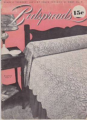 Vintage Crochet Patterns | Bedspreads #8 | 1940s