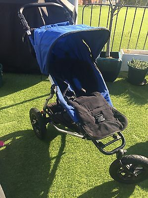 Mountain Buggy Pram With Bassinet & Accessories