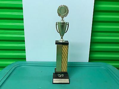 VINTAGE ORIGINAL 1970's QUARTER HORSE TROPHY 1977 RODEO CLUB