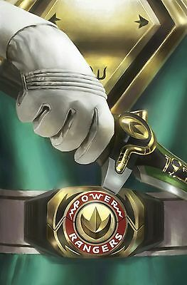 Mighty Morphin Power Rangers #13 1:50 Incentive Foil Variant 3/15/17 Pre-Sale