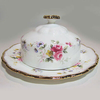 TENDERNESS Royal Albert Covered Butter Dish Bone China England NEW NEVER USED
