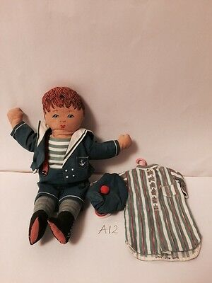 Vintage Rag Doll - Womans Weekly 1989 Designed By Jean Greenhowe Soft Plush Toy