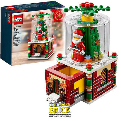 LEGO Snowglobe 40223 - Limited edition promotional christmas set - Brand new