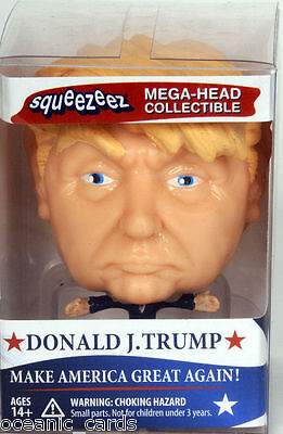 Donald J Trump Megahead Squeezeez Mega Head Collectable Squeezee Stress Toy