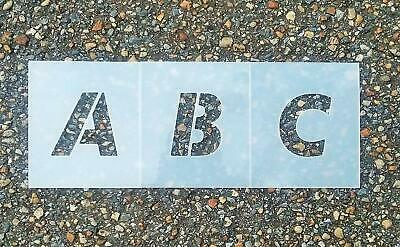 Times new Roman Uppercase Alphabet & Numbers - Parking lot - Letters - Paint