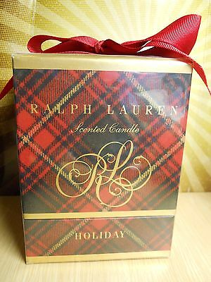 Ralph Lauren Holiday Scented Soy Candle Christmas Gift Retail $60 Still Sealed