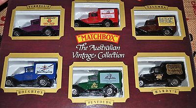 Collector Cars Matchbox The Australian Vintage Collection-6 Classics