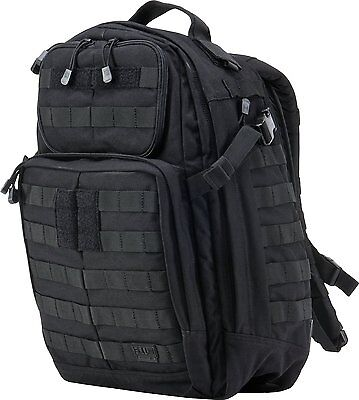 5.11 Tactical Rush 24 backpack MOLLE pack bag - Black - New with tags