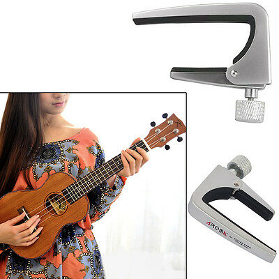 Trigger Capo Clamp Electric Acoustic Quick Release 6-String Guitar Ukulele Satin