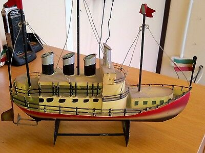 tin plate boat