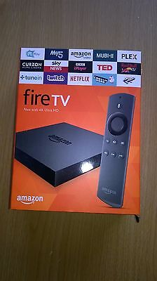 Amazon Fire TV with 4K Ultra HD Boxed Voice Remote